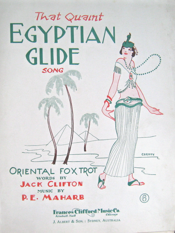 William H  Peck - Egypt in Tin Pan Alley From about 1900 to