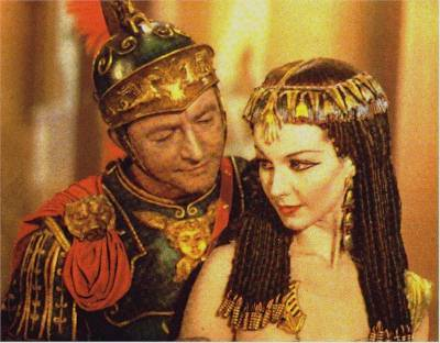the effect of caesar and cleopatras In 41 bc antony began an affair with the egyptian queen cleopatra, who had been caesar's lover in the last years of his life the queen gave birth to twins.